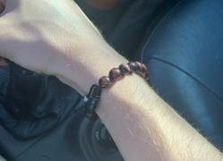 Enemy Eyewear 8mm Red Tiger's Eye Bead Bracelet Review