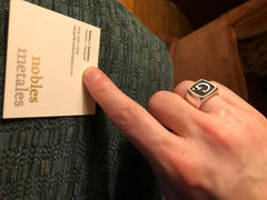 Enemy Eyewear Custom Silver Signet Ring Review