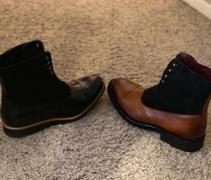 Southern Gents SG Logan High Top Boots - Cognac + Black Review