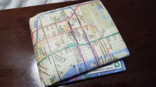 Mighty Wallet Subway Map Mighty Wallet Review