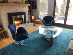 Interior Icons The Swan - The Swan Chair, Indigo Blue Review