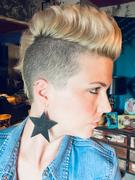 Eleven10Leather and Designs Black and Gold Hope Star Cork Earrings Review