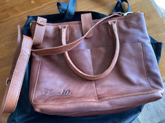 Eleven10Leather and Designs Brown Heights Leather Tote Bag 2.0 Review