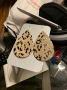 Eleven10Leather and Designs Leopard Inception Leather Teardrop Earrings Review