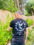 PLANT FACED CLOTHING Kale 'Em With Kindness - Black T-Shirt Review