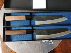 JapaneseChefsKnife.Com Fu-Rin-Ka-Zan Aogami Super Kurouchi Series FAB-6W Bunka 185mm (7.2 inch, Octagon Shaped Walnut Wood Handle) Review