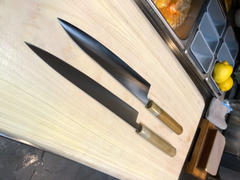 JapaneseChefsKnife.Com Masamoto KS Series SW-4324 Sweden Stainless Steel Wa Slicer 240mm (9.4 inch) Review