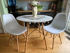 Modholic Eiffel Table Set - Wood Legs Review
