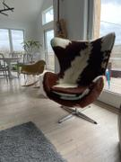 Modholic Egg Chair, Cow Hide Review
