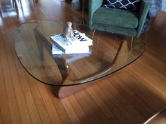 Modholic Triangle Coffee Table, Walnut Review