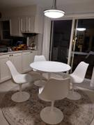 Modholic Tulip Dining Chair, White Review