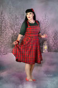 Miss Windy Shop Irvine Pinafore Red Lappuhame Review