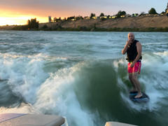 wakeballast Freedom Wakesurf board. Patriot Skim Surf Board 4' 4 (52.5) Review