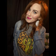 Envy Stylz Boutique Leopard Heart Cactus Graphic Tee Review