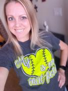 Envy Stylz Boutique Softball My Heart Is On The Field Graphic Tee Review