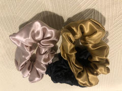 Blissy Blissy Scrunchies - Black, Gold, Pink Review