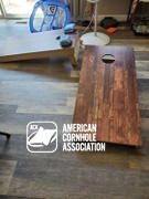 American Cornhole Association Star Dark Wood Professional Cornhole Boards Review