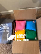 American Cornhole Association Turquoise Corn Filled Cornhole Bags Review