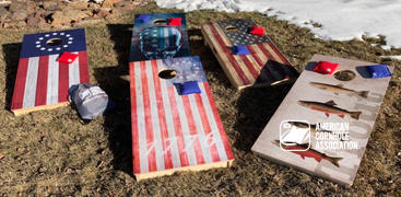 American Cornhole Association Red All Weather Cornhole Bags Review