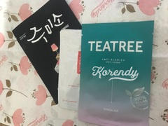 Korendy Barulab - The Clean Vegan TEATREE Mask 23gr Review