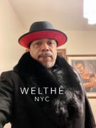 WELTHĒ NYC DuPonte Black Coat with Black Fox Fur Collar Review