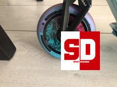 SprayDesigned Lucky Lunar 110mm Stunt Scooter Wheel (1-Pack) Review
