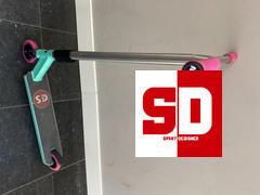 SprayDesigned Root Invictus SCS/HIC Stunt Scooter Gabel Bewertung