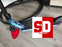 SprayDesigned Fuzion Z350 2021 Stunt Scooter - Dragon Scale Review