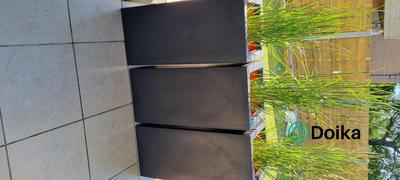 Doika Capi Europe Topf glatt NL 36x36x79 cm - schwarz Bewertung