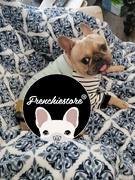 Frenchiestore French Bulldog Pyjamas | Frenchie Kleidung | Fawn Frenchie Hund Bewertung
