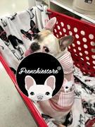 Frenchiestore Французский бульдог с капюшоном в розовом | Французская одежда | Белая французская собака Обзор