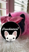 Frenchiestore Frenchiestore Pet Head Bow | Vintage rote Bewertung