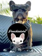 Frenchiestore Frenchiestore Ремень для здоровья с регулируемым вырезом из веганской кожи | Обзор Pink Varsity