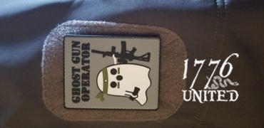 1776 United Ghost Gun Operator PVC Patch Review