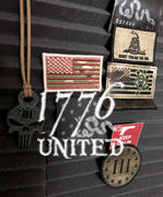 1776 United Washington HQ Flag PVC Patch Review