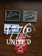 1776 United Liberty or Death PVC Patch Review