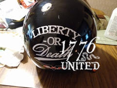 1776 United Liberty or Death Decal Review