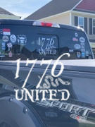 1776 United 1776 United® Logo Decal LARGE Review