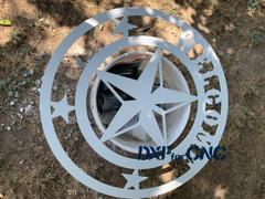 DXFforCNC.com Texas Star Welcome Free DXF file Review