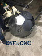 DXFforCNC.com Fire Pit Ball Review