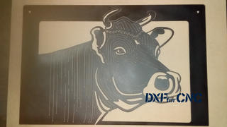 DXFforCNC.com Cow Face Review