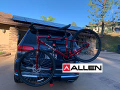 Allen Sports USA Premier Quick Install Locking Hitch Bike Rack Review