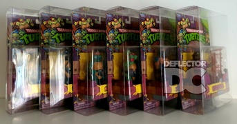Deflector DC Teenage Mutant Ninja Turtles Classic Collection 1988 TMNT Display Case Review