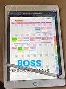 BOSS Personal Planner Digital Fitness Planner Review