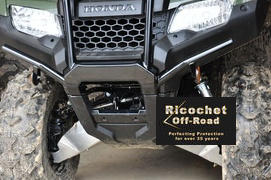 Ricochet Off-Road 2-Piece A-Arm & CV Boot Guard Set, Honda TRX420 FourTrax Rancher (Straight Axle) Review