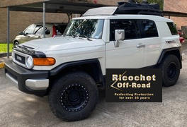 Ricochet Off-Road Aluminum Air-Dam, Toyota FJ Cruiser Review