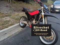 Ricochet Off-Road Husqvarna TE400, TE410, TE610, TE630, TC610 and TC570 Aluminum Skid Plate Review