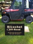 Ricochet Off-Road 2-Piece Aluminum Rock Slider Set, Polaris Ranger XP 1000 Review