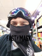 Fast Mask Plain Black Fastmask *Now with Sewn Edges* Review
