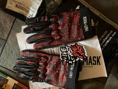 Fast Mask Black & Red Paisley Motorcycle Gloves Review